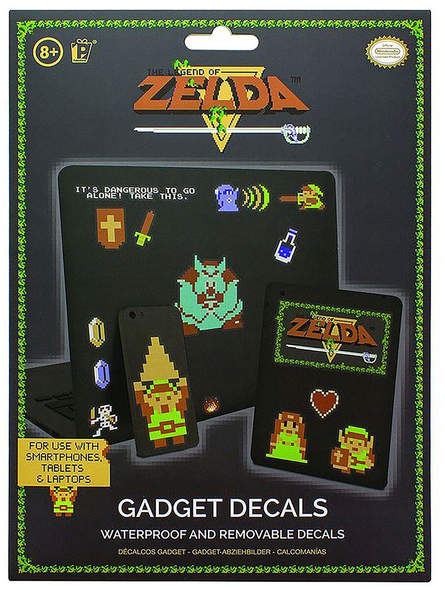 Image of The Legend Of Zelda Sticker-Set Aufkleber-Set multicolor