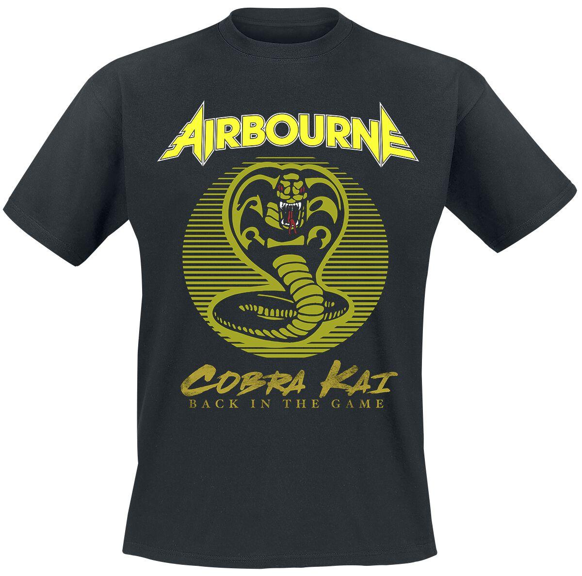 Image of Airbourne Cobra Kai T-Shirt schwarz