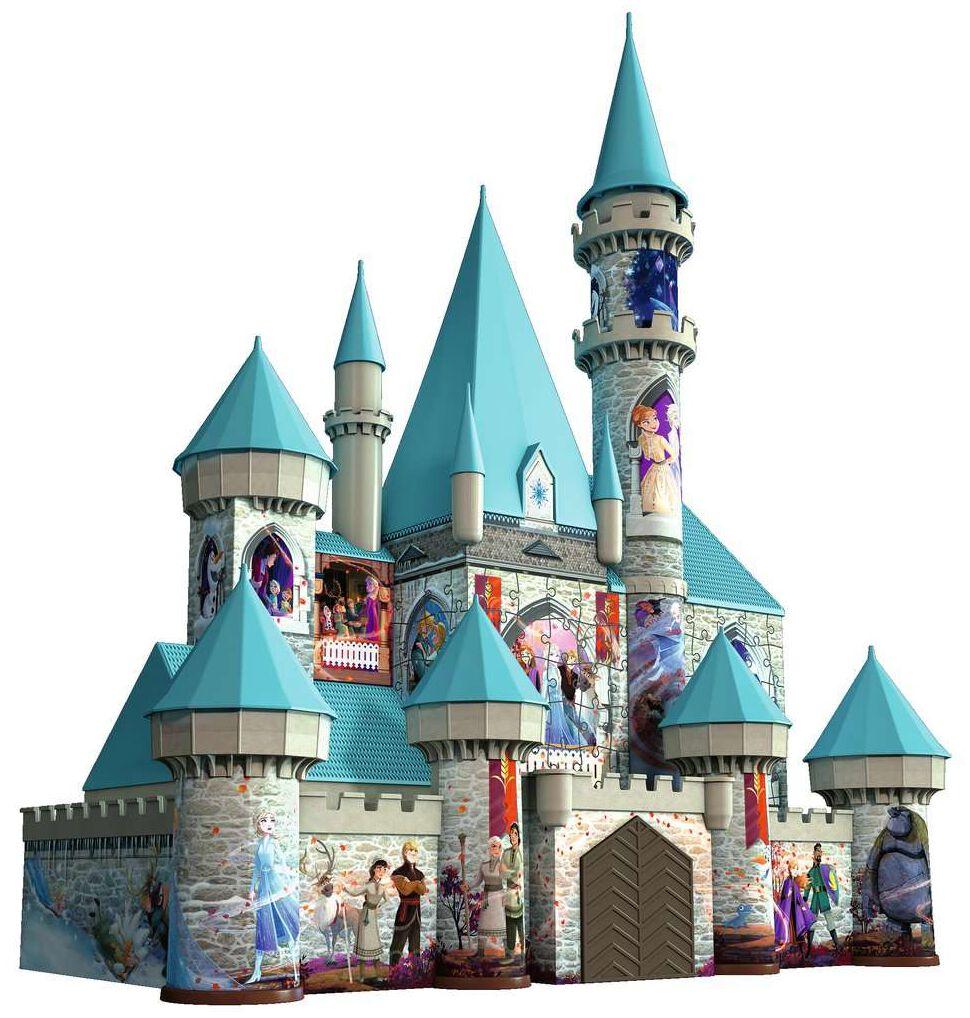 Die Eiskönigin  2- Schloss - 3D Puzzle  Puzzle  multicolor