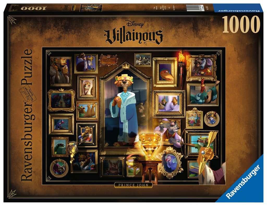 Disney Villains  Prinz John - 1.000 Teile  Puzzle  multicolor