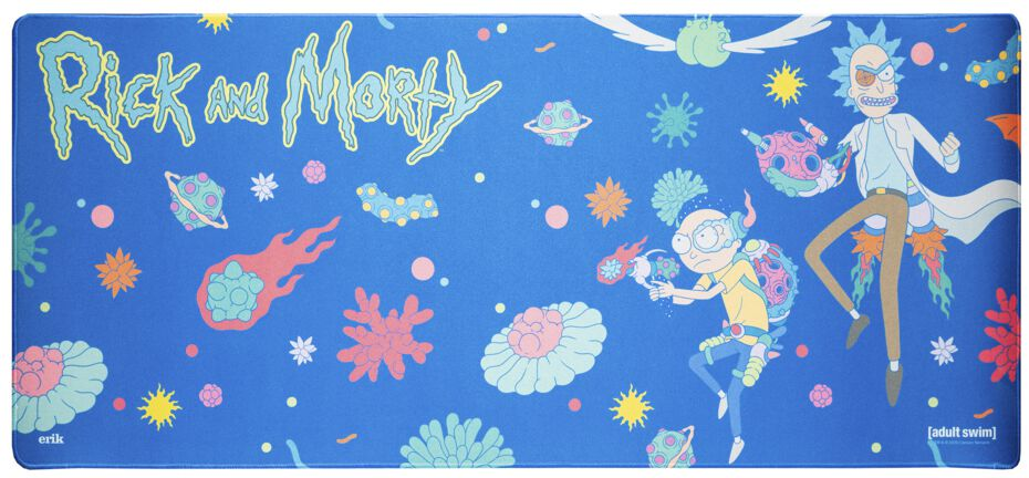 Rick And Morty XL Mousepad  Mouse-Pad  multicolor