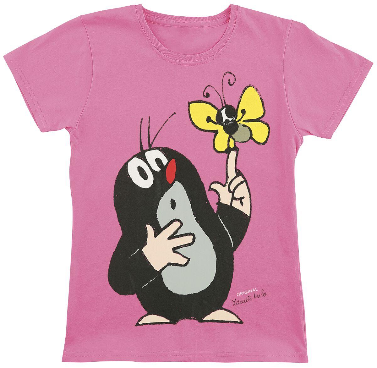 Der kleine Maulwurf Maulwurf T-Shirt pink #03099