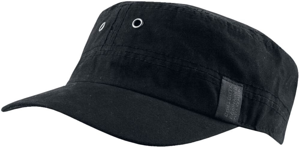 Image of Chillouts Dublin Hat Army-Cap schwarz