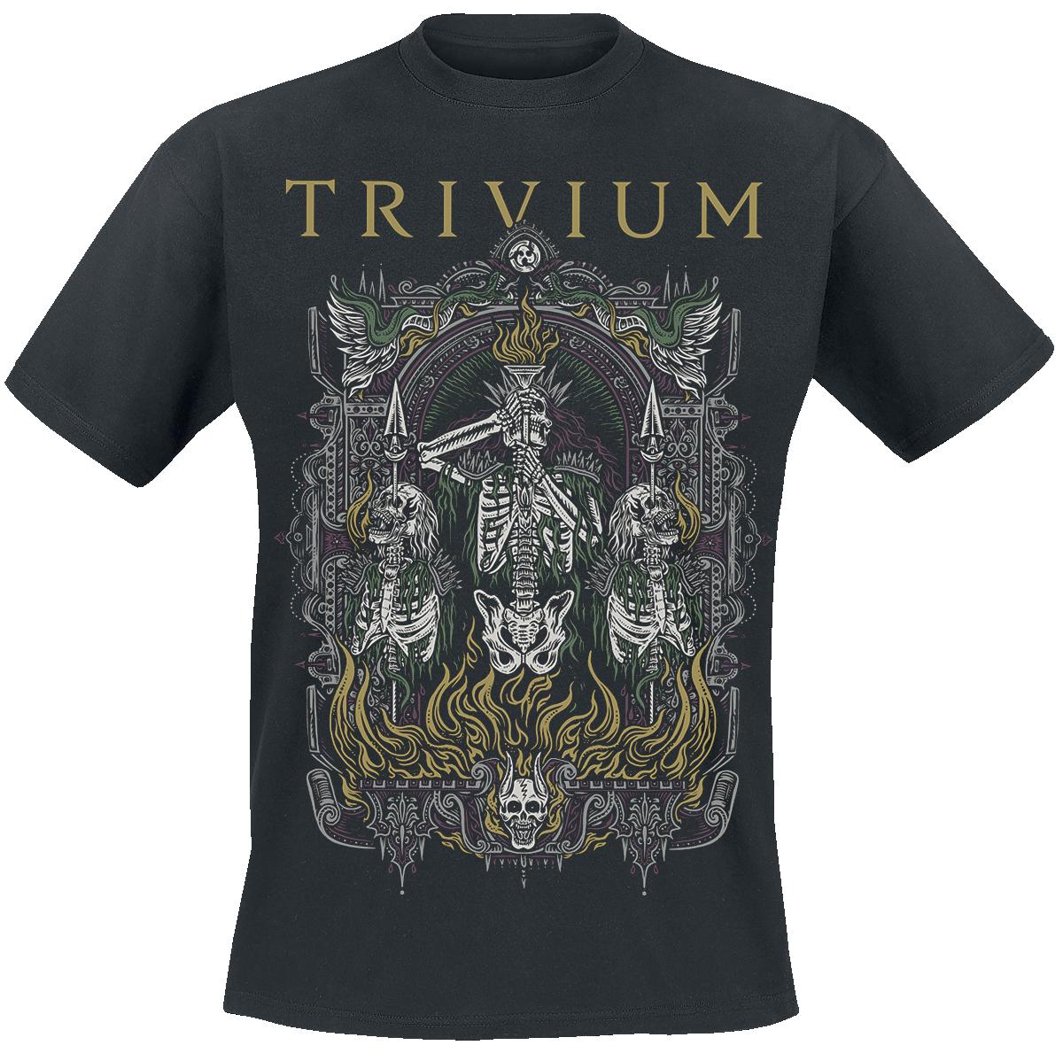 Trivium - Skelly Frame - T-Shirt - schwarz