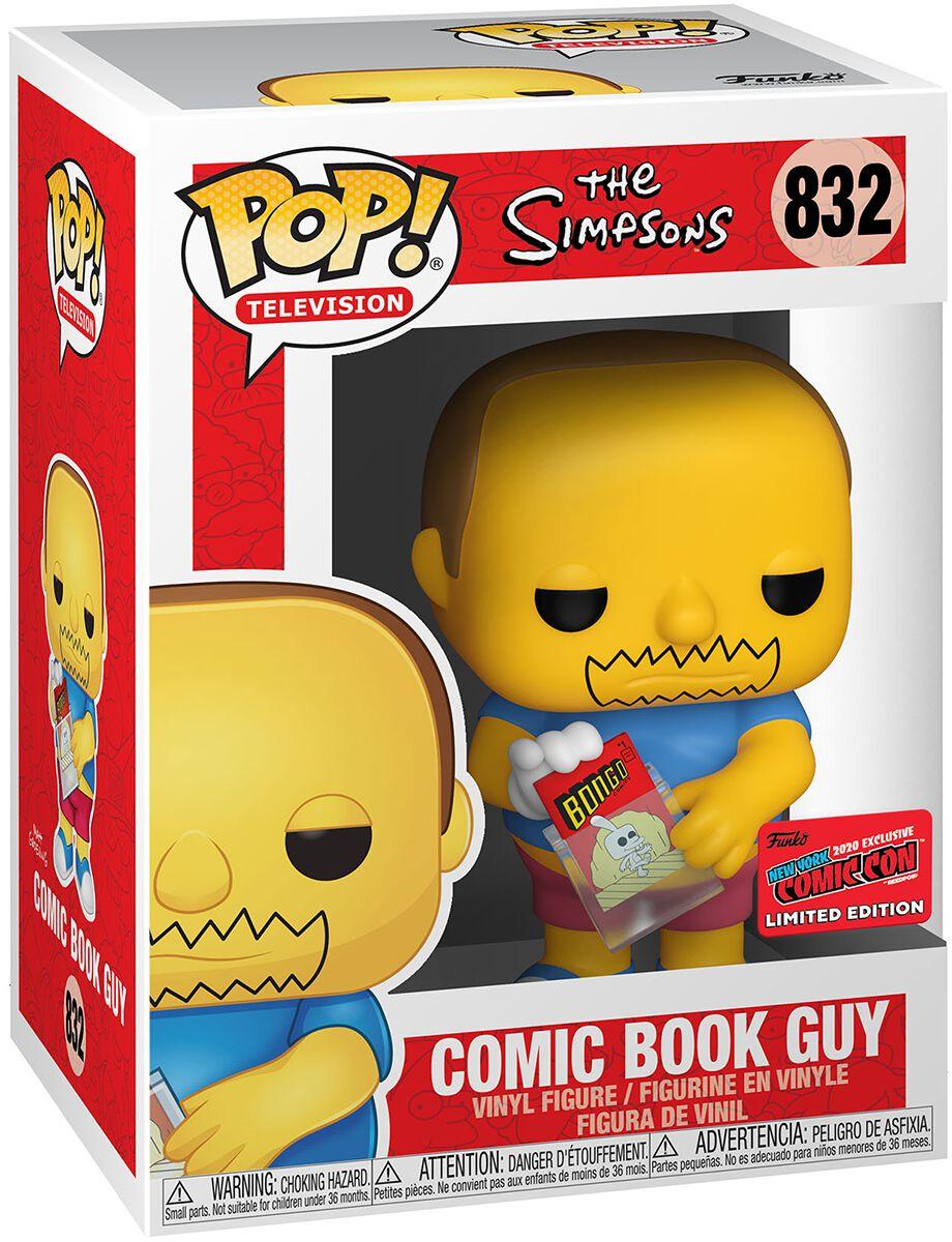 Simpsons NYCC 2020 - Comic Book Guy Vinyl Figur 832 Funko Pop! multicolor 48573