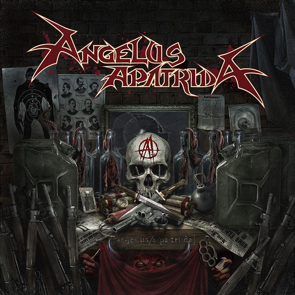 Image of Angelus Apatrida Angelus Apatrida CD Standard