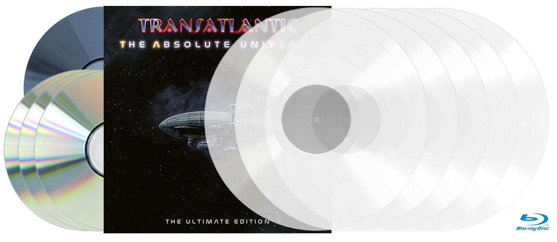 Image of TransAtlantic The absolute universe - The ultimate edition 5-LP & 3-CD & Blu-ray klar
