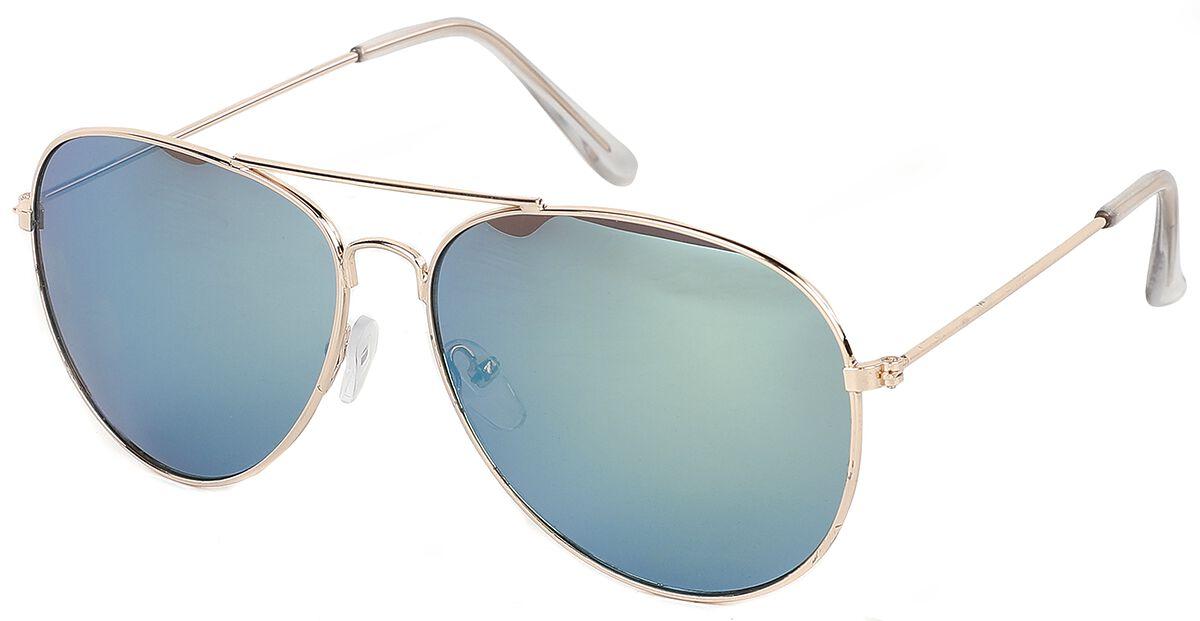 Pilotenbrille Gold Mirror Sonnenbrille goldfarben A30127