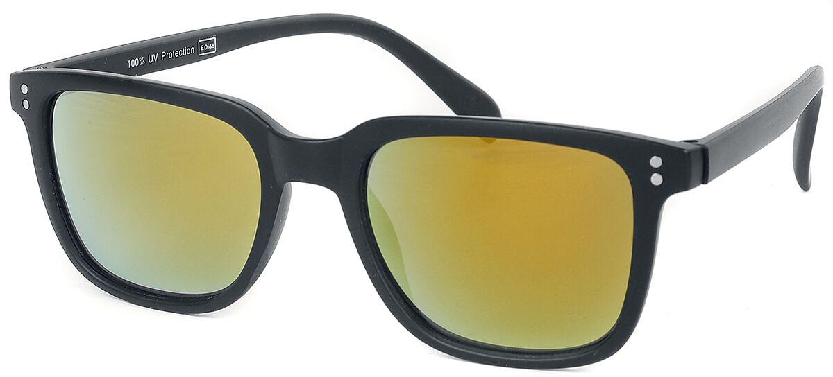 Classic Style -  - Sonnenbrille - schwarz|gelb