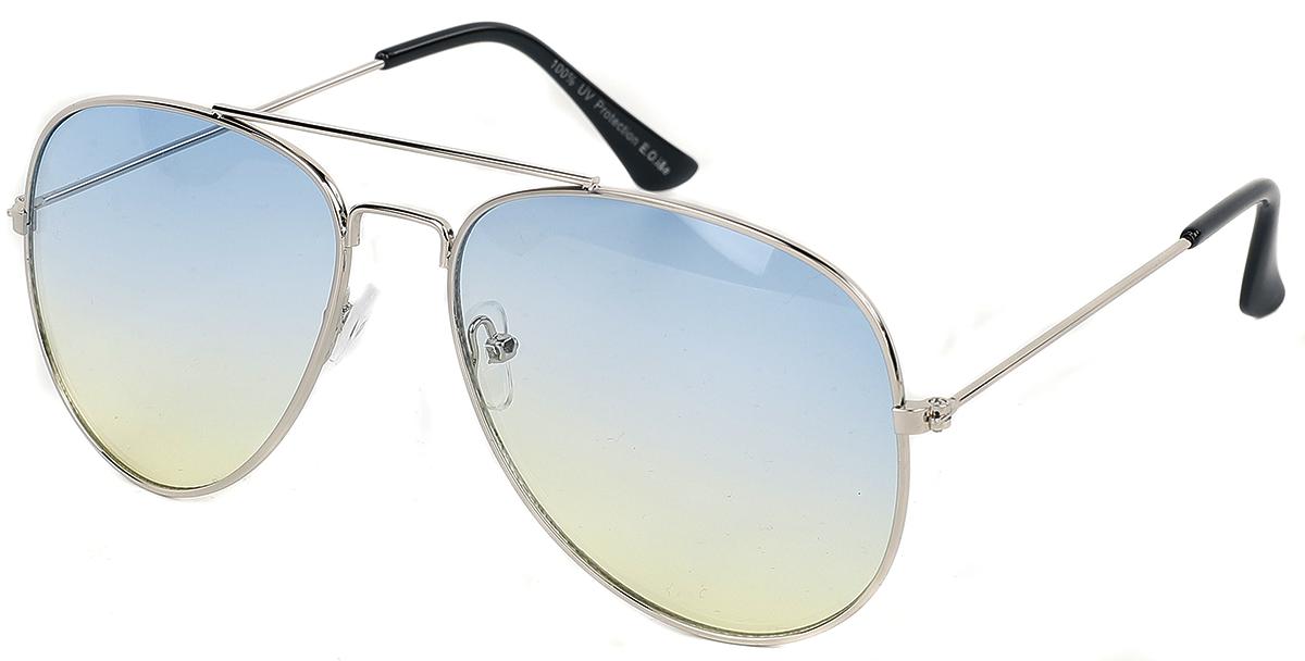 Pilotenbrille Silver -  - Sonnenbrille - silberfarben