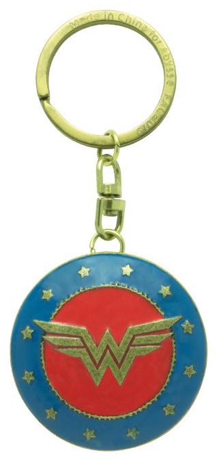 Wonder Woman - Shield - Schlüsselanhänger - multicolor