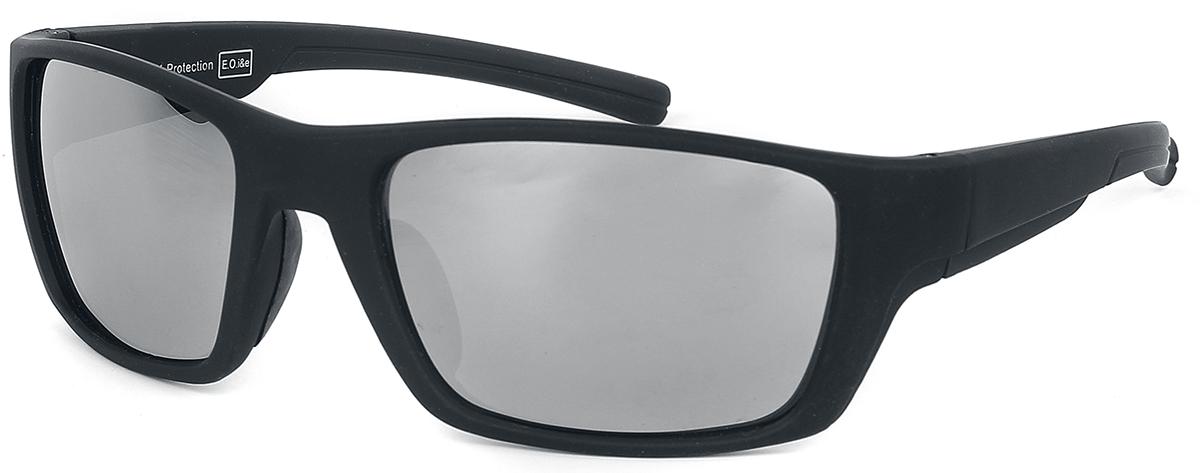 Sport Matt Schwarz -  - Sonnenbrille - schwarz