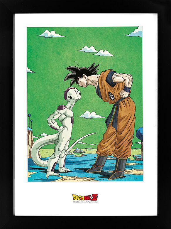 Dragon Ball Super - Frieza vs. Goku Gerahmtes Bild multicolor ABYDCO686