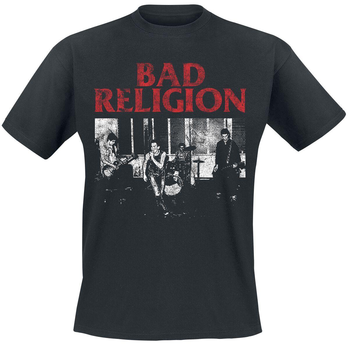 Image of Bad Religion Live 1980 T-Shirt schwarz