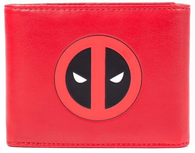 Deadpool Deadpool Logo Geldbörse rot schwarz weiß MW261704DE A