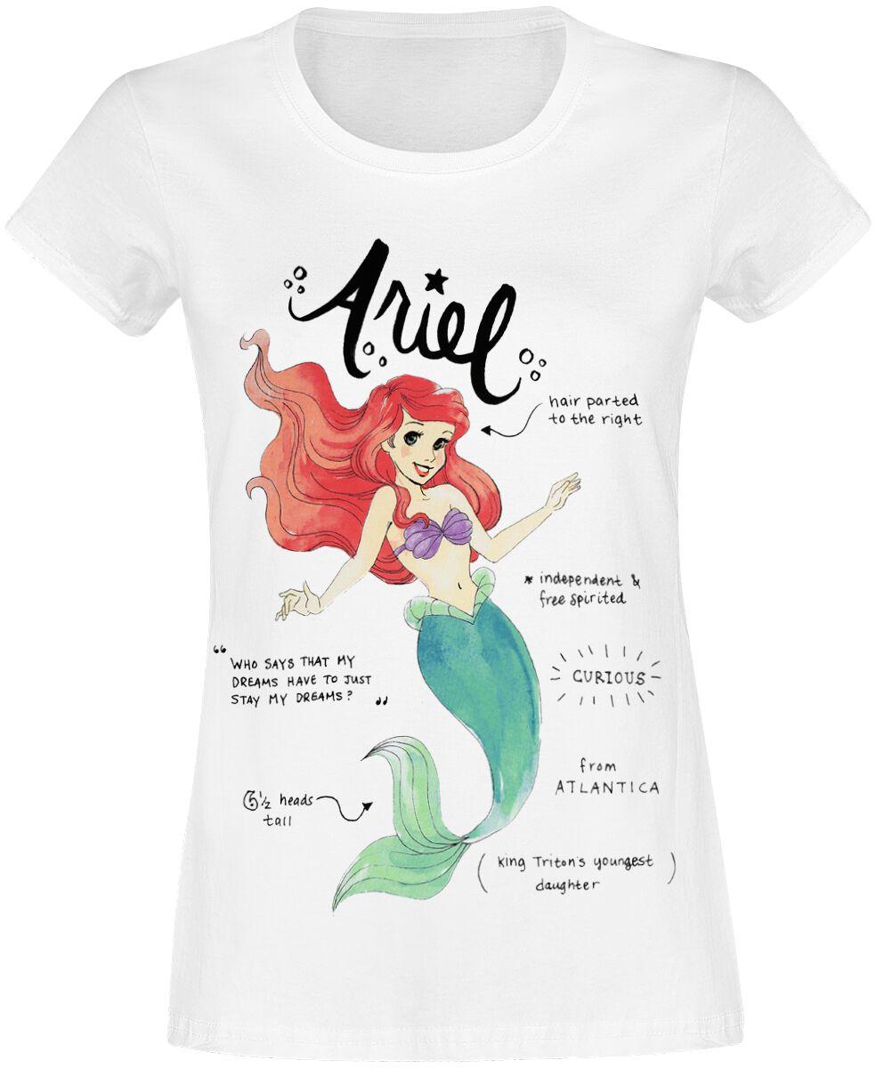 Arielle, die Meerjungfrau Arielle T-Shirt weiß 135304004