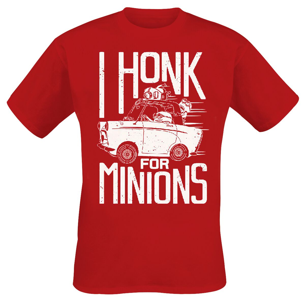Minions I Honk For Minions T-Shirt rot Indie2627