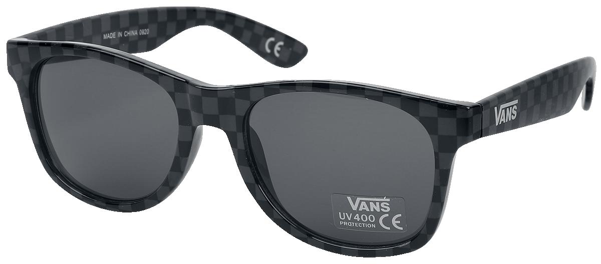 Vans - Spicoli 4 Shades Checkerboard - Sonnenbrille - schwarz| grau