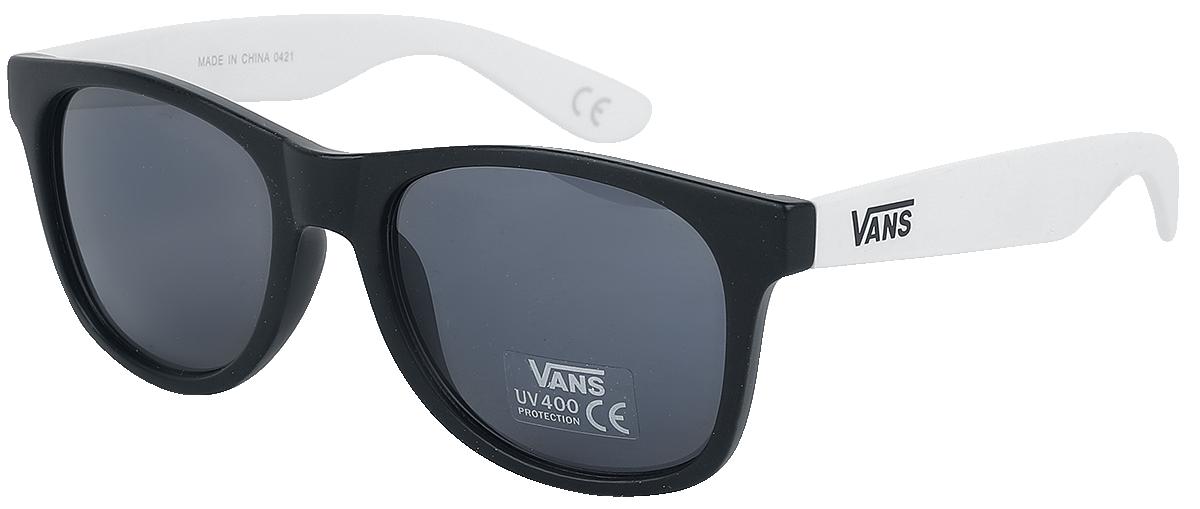 Vans - Spicoli 4 Shades Black and White - Sonnenbrille - schwarz| weiß