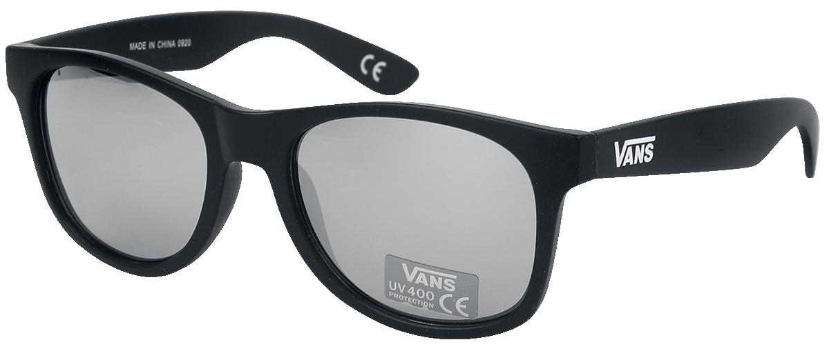 Vans - Spicoli 4 Shades Matte Black Silver Mirror - Sonnenbrille - schwarz