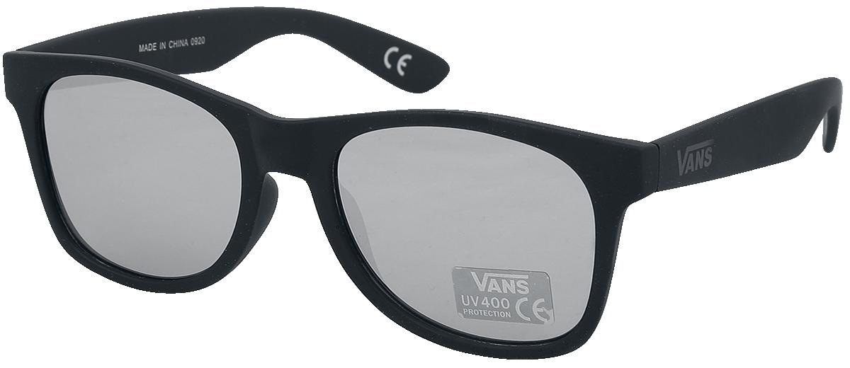 Vans - Spicoli Flat Shades Black Silver Mirror - Sonnenbrille - schwarz