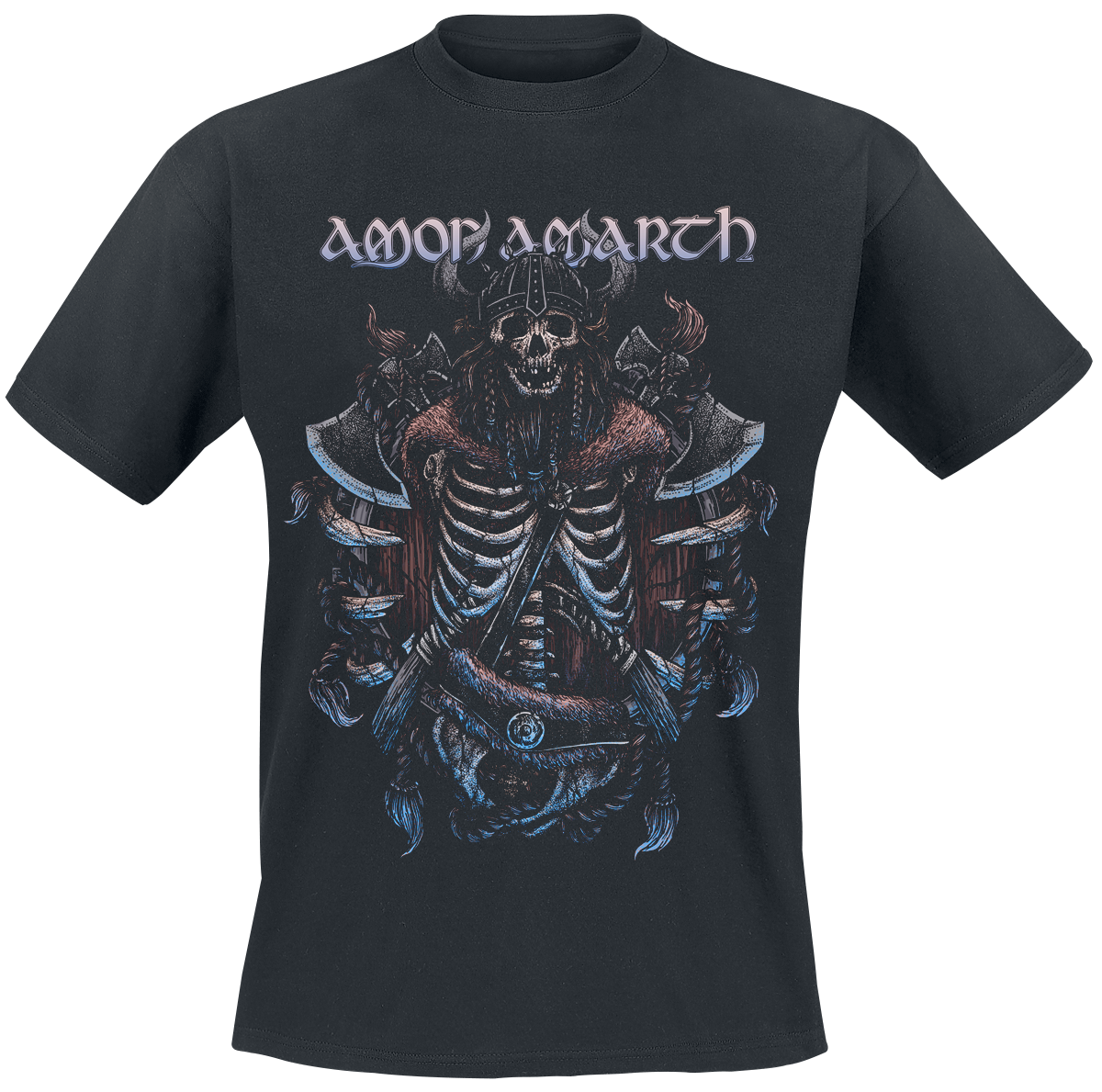 Amon Amarth - Skeleton - T-Shirt - schwarz
