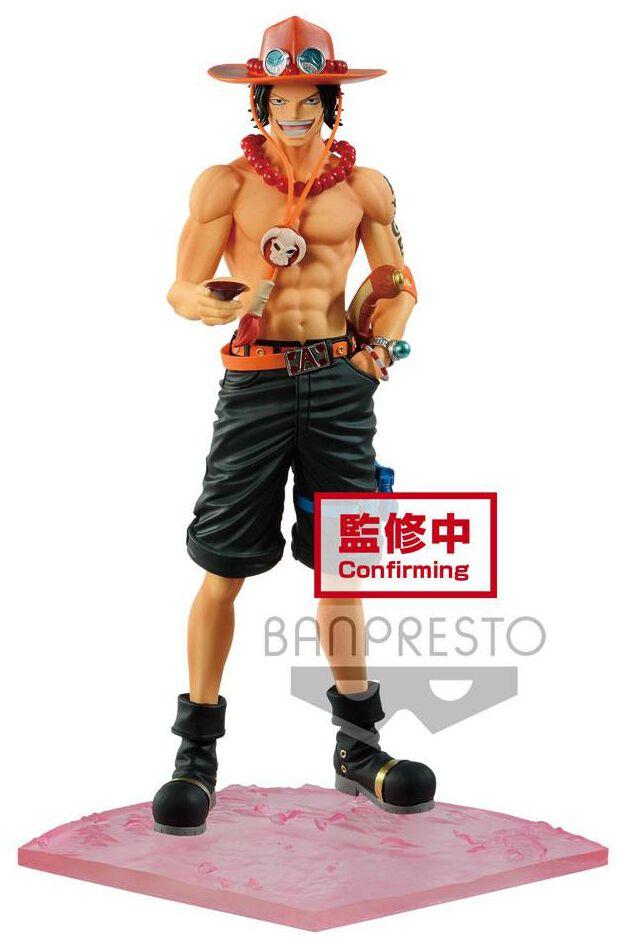 One Piece Magazine Statue Portgas D Ace Special Episode Luff Vol. 2 Statue multicolor BANPBP1703 5P