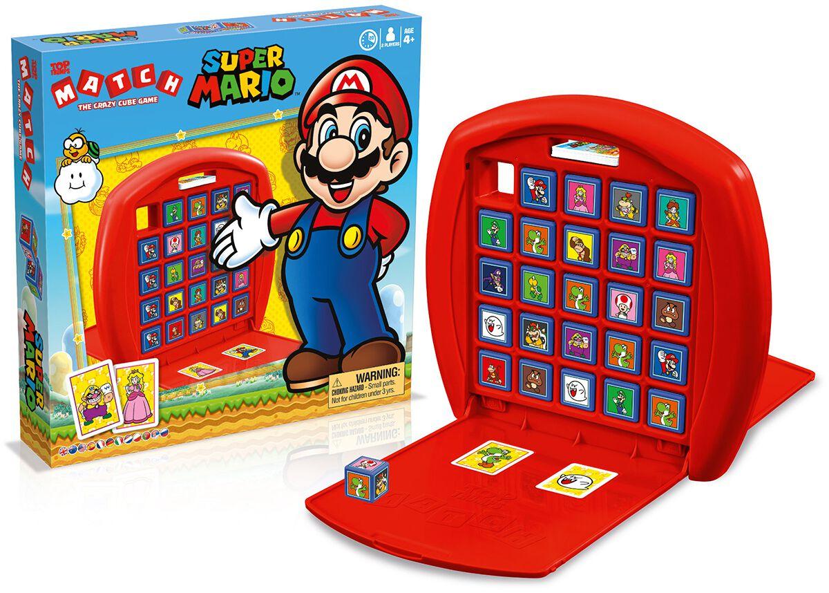 Super Mario Match Brettspiel multicolor 905964