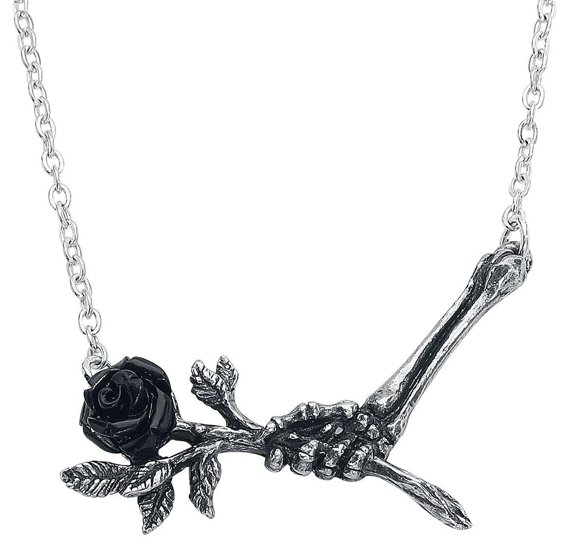 Alchemy Gothic - Love Never Dies Pendant - Halskette - silberfarben