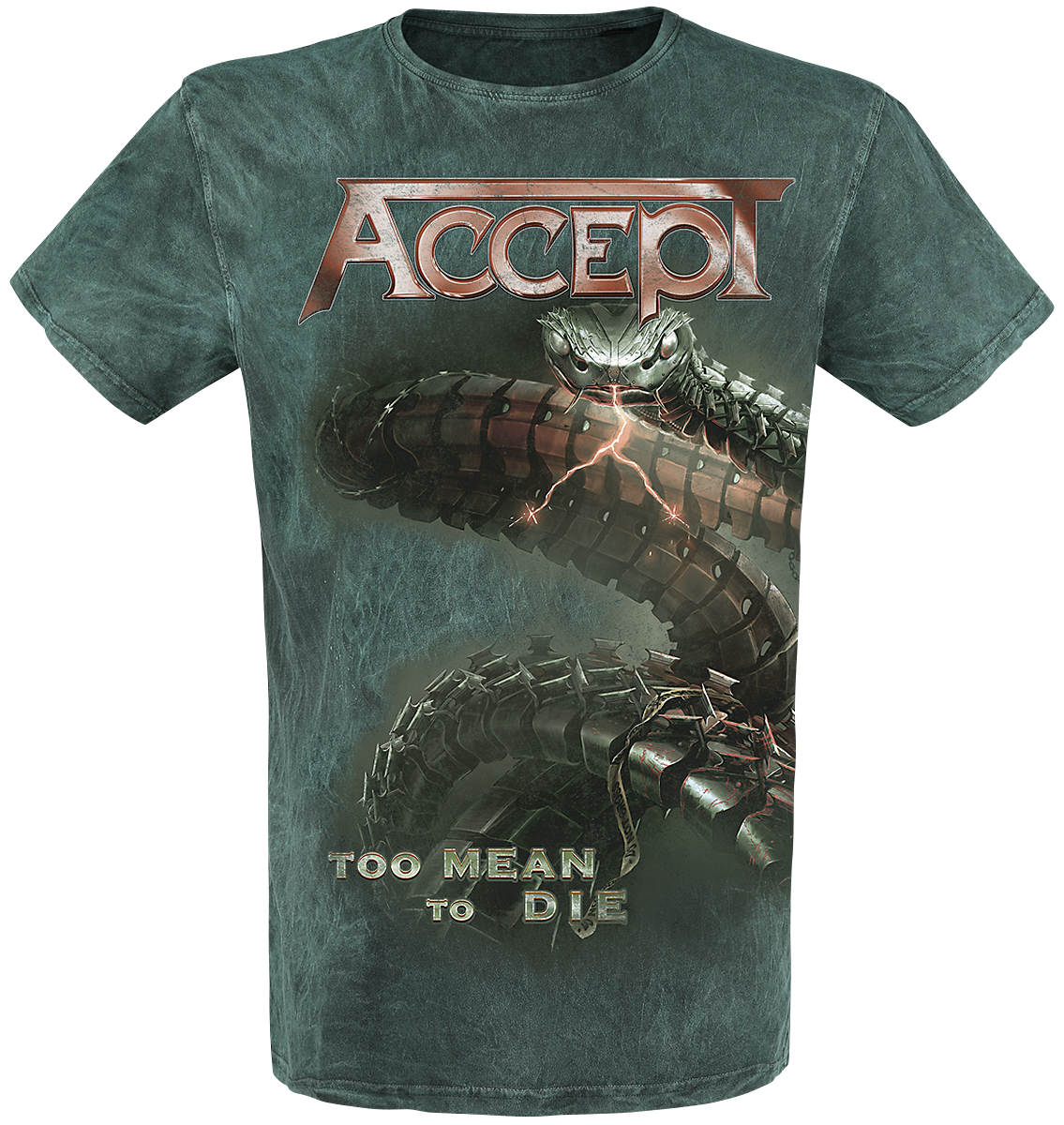 Accept - Too Mean To Die - T-Shirt - grün - EMP Exklusiv!