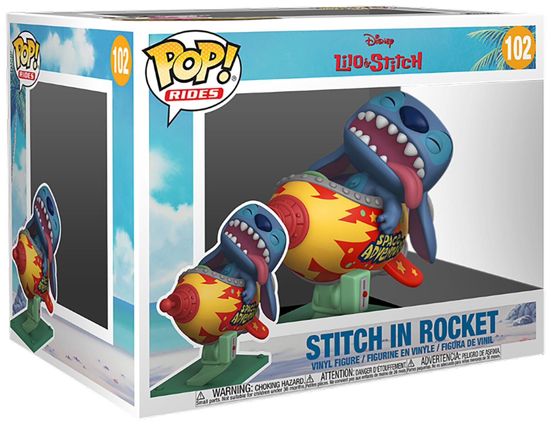 Lilo and Stitch Stitch In Rocket (Pop! Ride) Vinyl Figur 102 Funko Pop! multicolor 55620