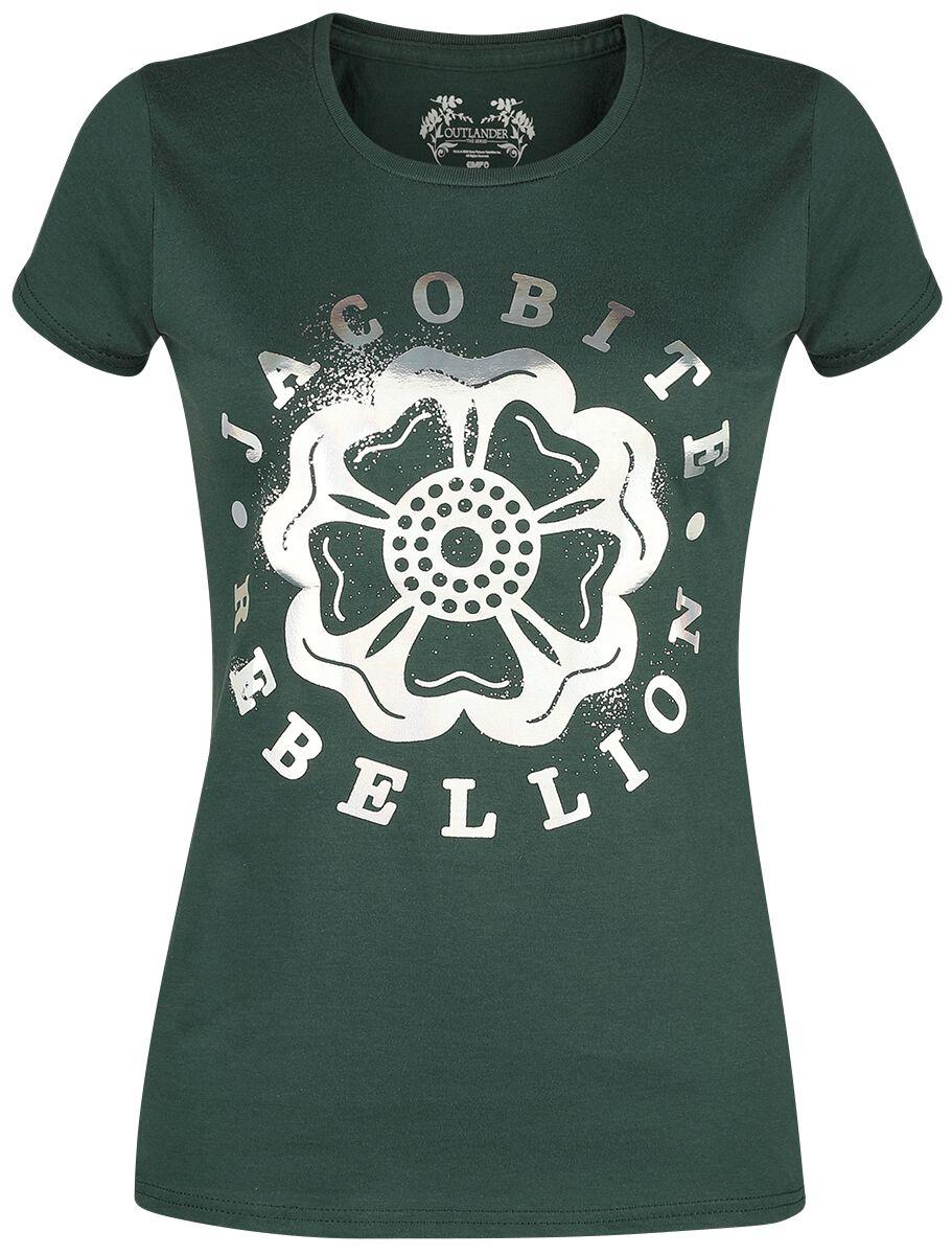 Outlander - Jacobite Rebellion - T-Shirt - dunkelgrün - EMP Exklusiv!