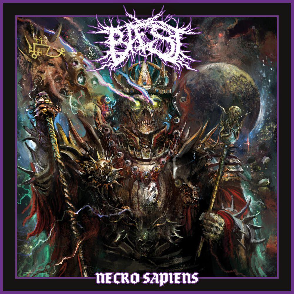 Image of Baest Necro sapiens CD & Patch Standard