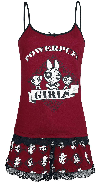 The Powerpuff Girls Powerpuff Girls Schlafanzug multicolor WE100045