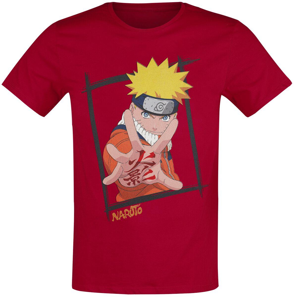 Naruto Naruto T-Shirt rot MENARUTTS044
