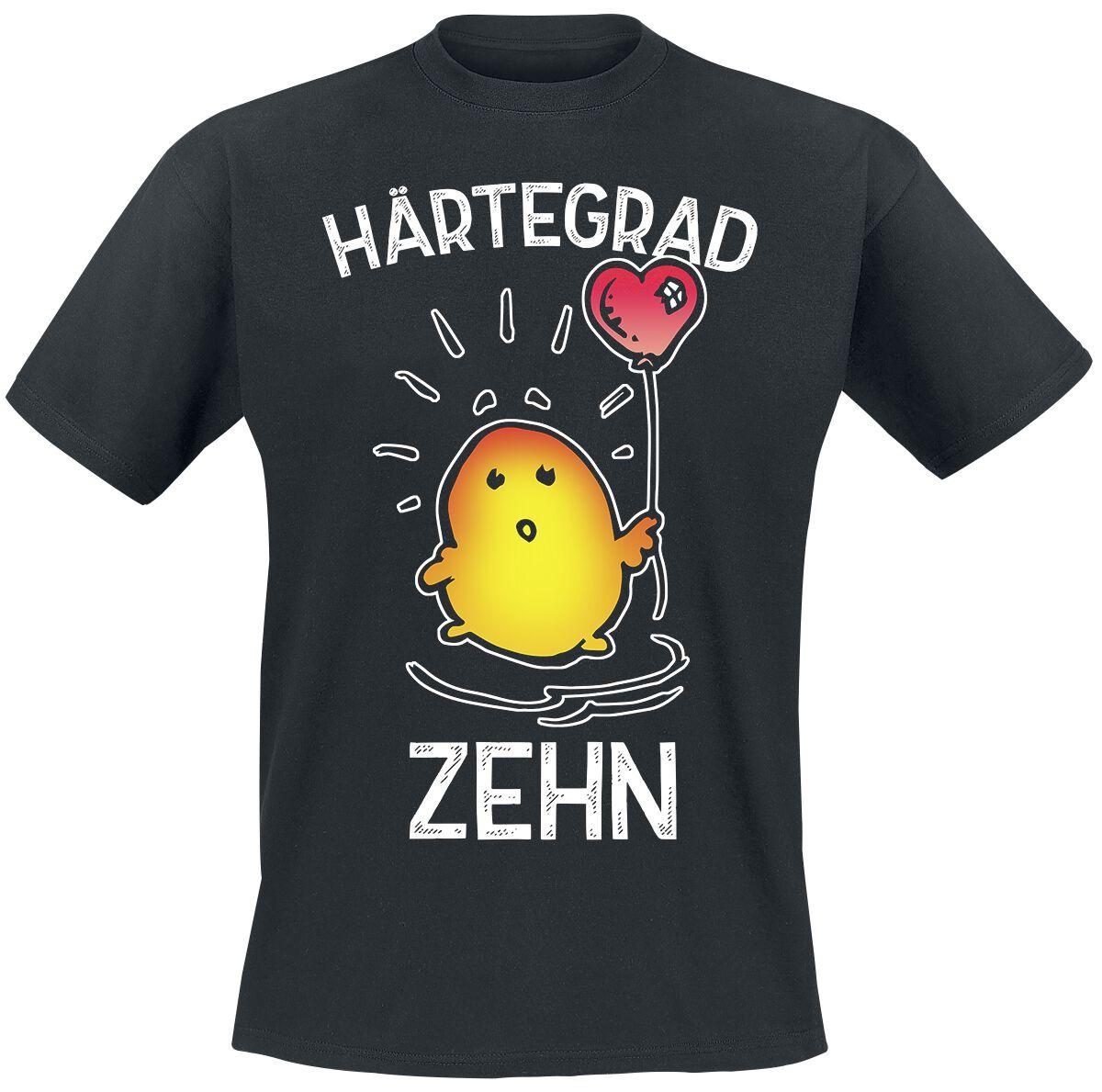 Härtegrad Zehn T-Shirt schwarz 712283