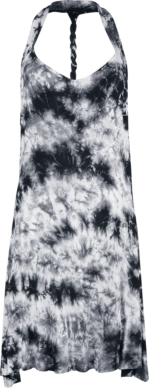 Innocent Alaska Dress Kurzes Kleid schwarz weiß D-ALASKA-WB