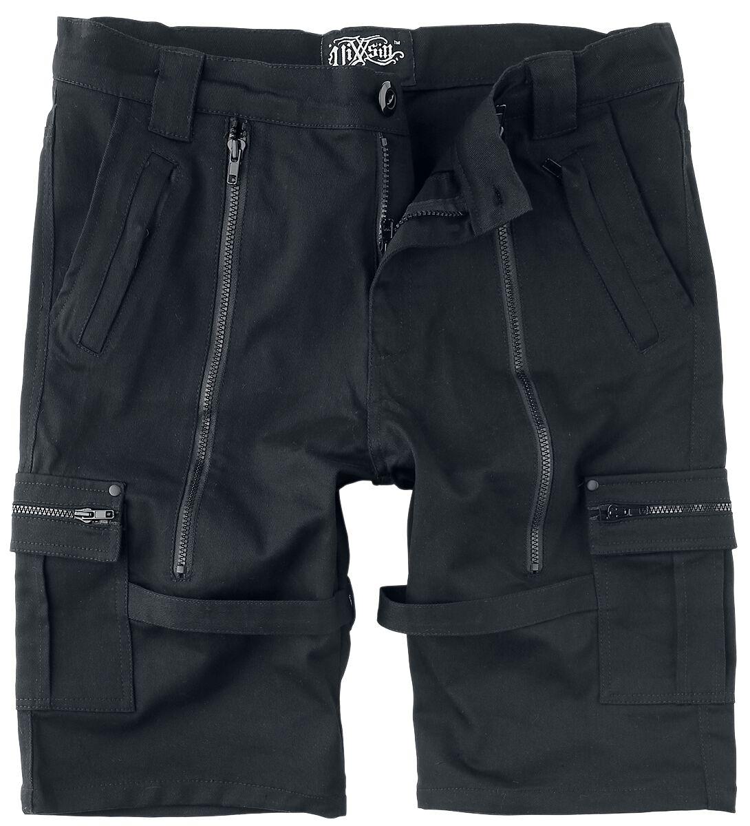 Vixxsin Treyton Shorts Short schwarz P-TREYTAONM-B