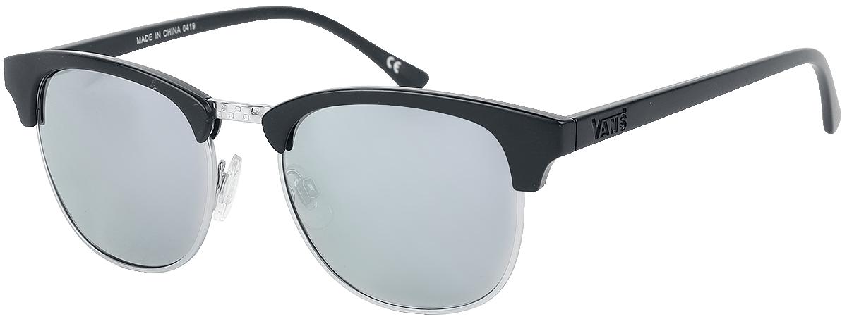 Vans - Dunville Shades Matte Black/Silver Mirror - Sonnenbrille - schwarz