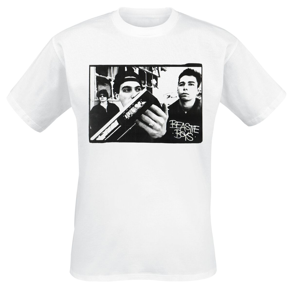 Image of Beastie Boys Check Your Head Photo T-Shirt weiß
