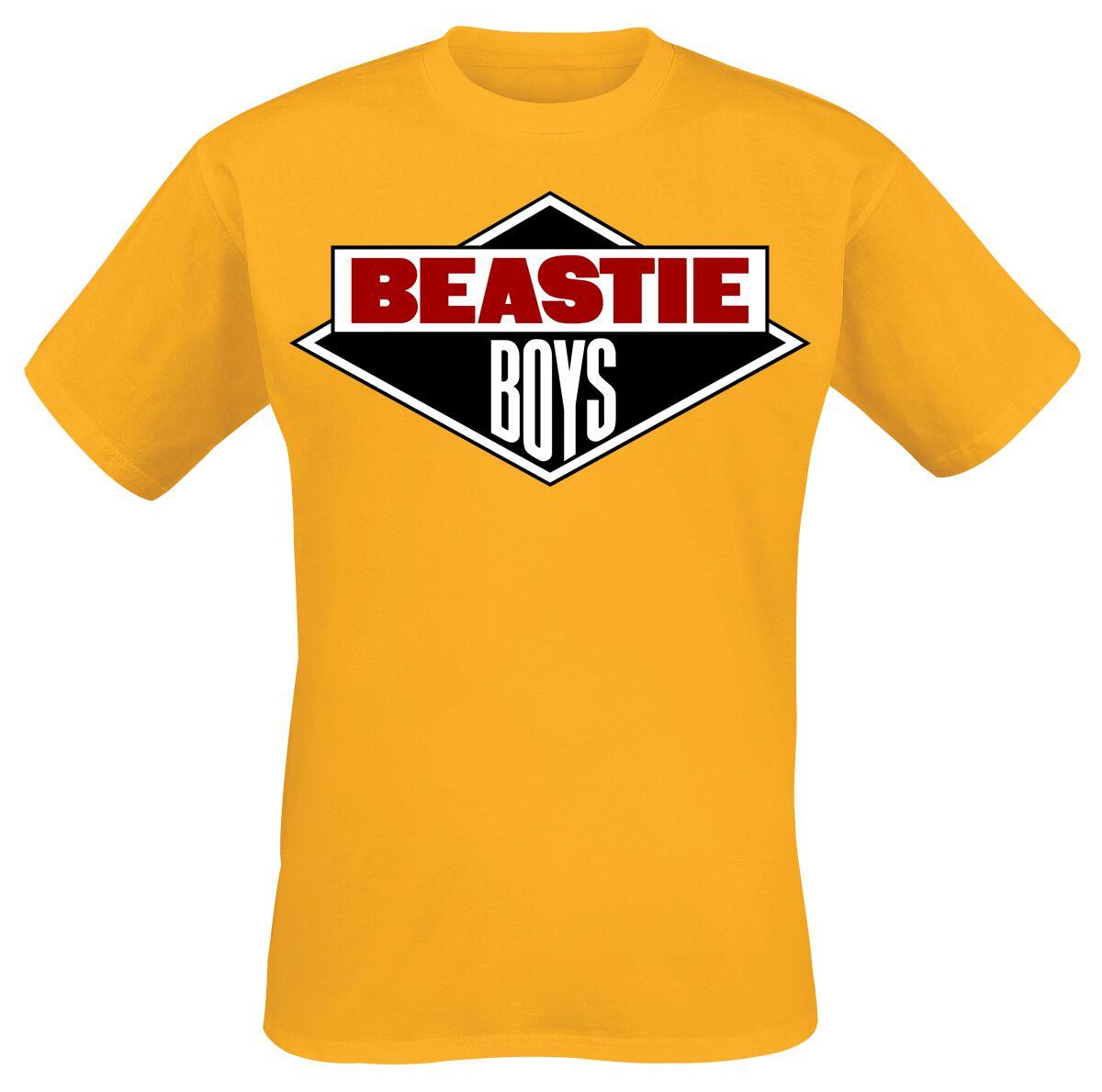 Image of Beastie Boys Logo T-Shirt orange