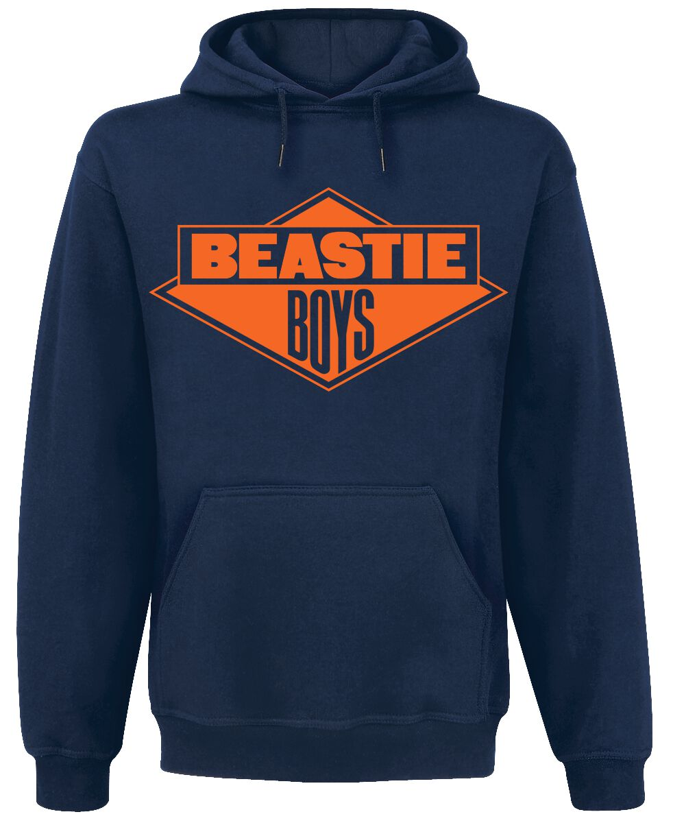 Image of Beastie Boys Logo Kapuzenpulli navy
