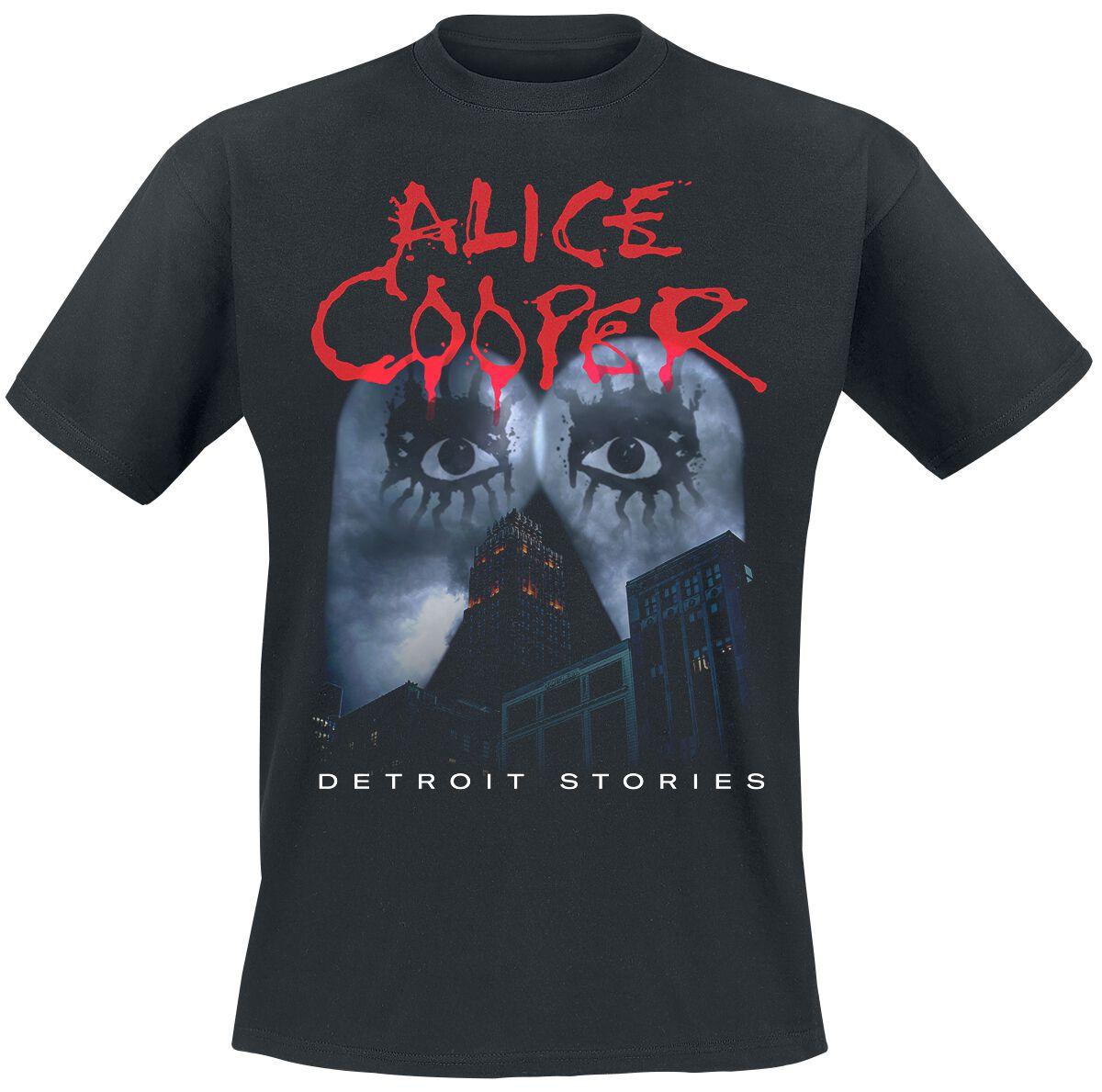 Image of Alice Cooper Detroit Stories T-Shirt schwarz