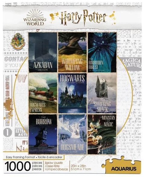 Image of Harry Potter - Travel Posters - Puzzle - Puzzle - Unisex - multicolor