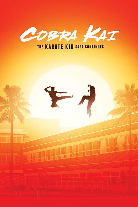 Cobra Kai The Karate Kid Saga continues Poster multicolor PP34735