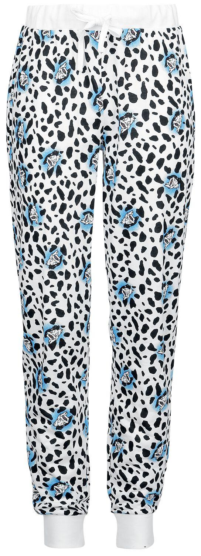 Disney Villains - Cruella de Vil - Pyjama-Hose - weiß schwarz - EMP Exklusiv!