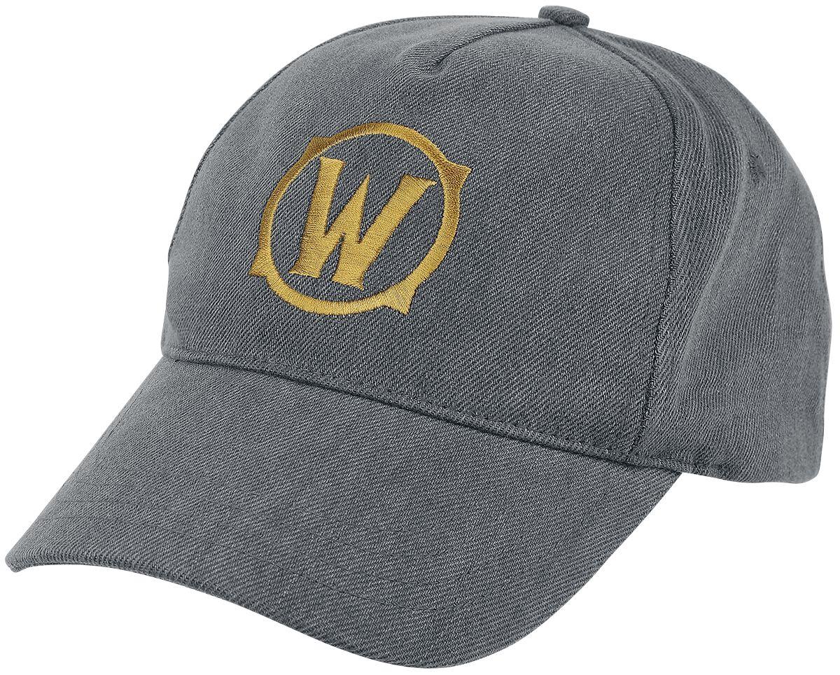 World Of Warcraft Icon Cap grau BC001WOW