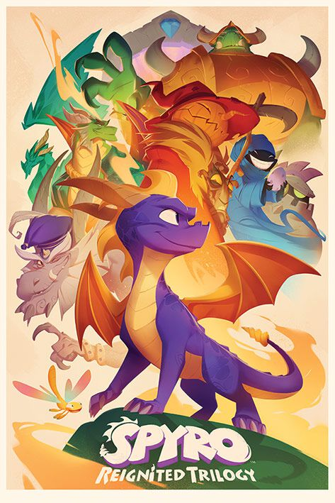 Spyro - The Dragon Spyro Poster multicolor PP34400