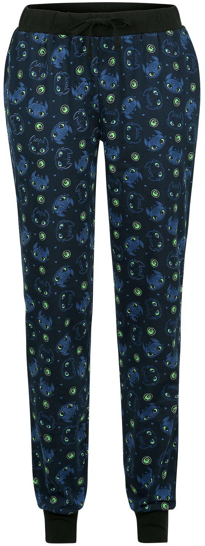Drachenzähmen leicht gemacht - Sky Time - Pyjama-Hose - dunkelblau - EMP Exklusiv!