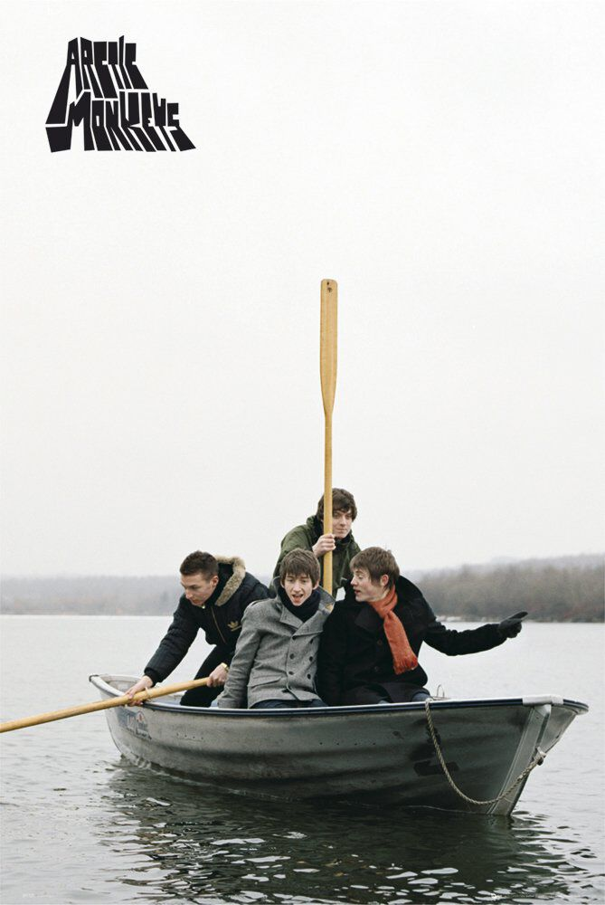 Image of Arctic Monkeys Boat Poster multicolor